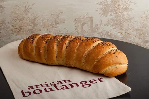 Pâine albă cu semințe